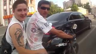 Подборка страшных ДТП на видеорегистратор  Мотоциклы
