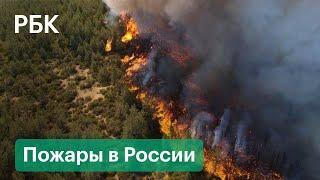 Регионы России в огне и дыму. Лесные пожары в Якутии, Иркутске, Мордовии и Башкирии