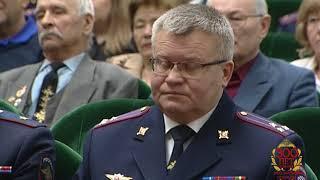 В МВД республики прошло торжественное собрание, посвященное Дню защитника Отечества