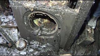 В Башкирии из-за скачка напряжения три семьи потеряли дом в пожаре