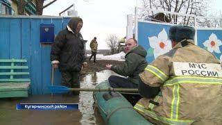 В Кугарчинском районе готовятся к эвакуации местных жителей из-за паводка