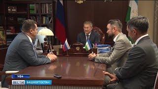 Радий Хабиров встретился с председателем Союза журналистов России Владимиром Соловьевым