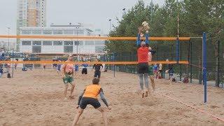 UTV  В Уфе на озере Кашкадан прошел турнир по пляжному волейболу 720P inet