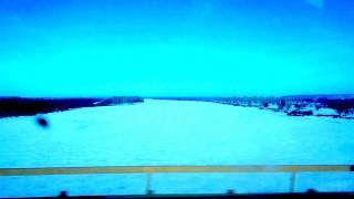 По мосту над рекой Белой, рядом с г.Дюртюли