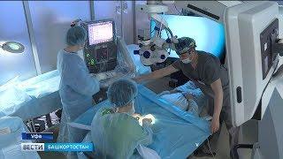 В Уфе хирурги-офтальмологи впервые прооперировали пациента с помощью 3D-оборудования