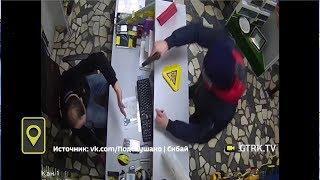 Продавец избил молотком налетчика в одном из магазинов Башкирии