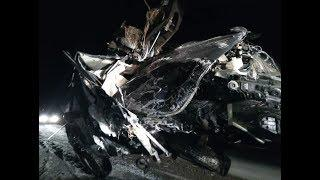 Водителя выбросило из салона машины в результате ДТП в Башкирии
