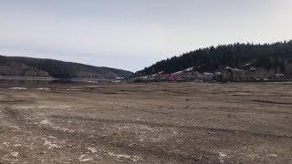 На Павловском водохранилище ушла вода