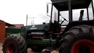 В Янаульском районе Башкирии «кулибины» собрали мощный трактор «Бизон»