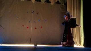 Башкирский танец с самоваром.