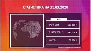UTV. Коронавирус в Башкирии, России и мире на 31 марта 2020. Плюс опрос уфимцев
