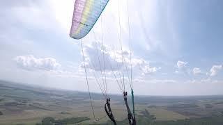 Аслыкуль-Кумертау,полет на параплане,18.05.21,ч3
