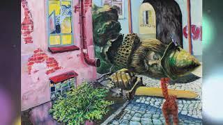 Художник Лев Карнаухов (город Уфа, проект «Любимые художники Башкирии»)