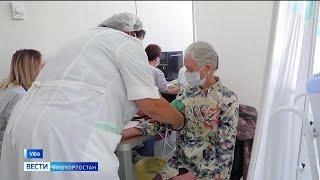 В Башкирии ввели самоизоляцию для пожилых без вакцинации