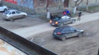 Женщины подрались с водителем в Сибае