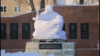 Новости UTV. Установка скульптуры на Вечном огне
