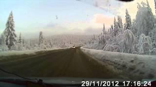 Природа вдоль дороги Уфа Белорецк
