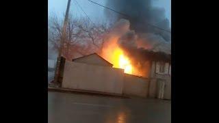 Пожар в Зелёной роще в Уфе | Ufa1.RU