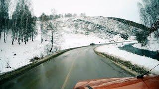 Поездка на Весте по УРАЛУ(Зима). Янган-Тау, Источник мин.Воды Кургазак.(Башкирия)