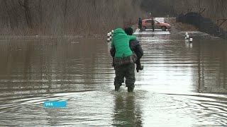 Уровень воды в реках Уфы продолжает расти