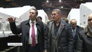 Радий Хабиров посетил завод «Витязь», где производят уникальные машины-вездеходы
