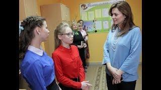 Каринэ Хабирова сегодня посетила Стерлитамакский детский дом