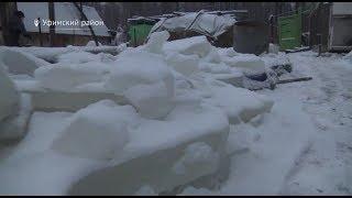 В Башкирии дачный поселок оказался в ледяном плену из-за затопления