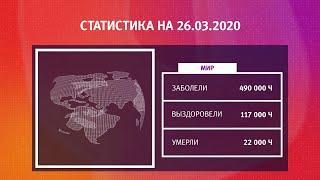 UTV. Коронавирус в Башкирии, России и мире на 26 марта 2020. Плюс опрос уфимцев