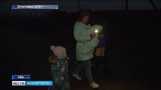 В поселке под Уфой две сотни домов остались без уличного освещения