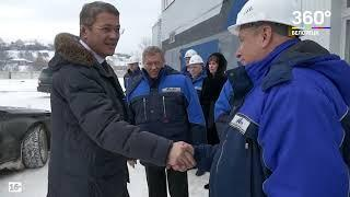 Детали посещения ВрИО Главы РБ Радия Хабирова Белорецка