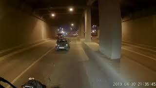 ДТП в тоннеле на проспекте Салавата Юлаева, Уфа (30.04.19)