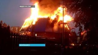 Новые подробности крупного пожара в развлекательном комплексе Нефтекамска