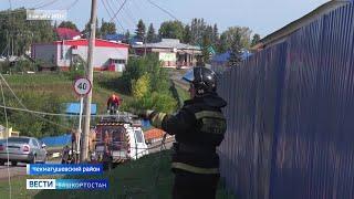 Гнев стихии: последствия мощного урагана устраняют в Чекмагушевском районе Башкирии