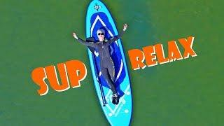 SUP серфинг на оз. Аслы-Куль, КайтСерфЦентр + BroActive. Апрель 2019