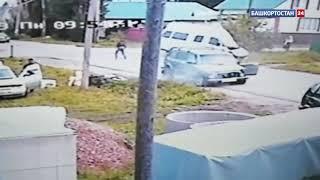 В Стерлитамаке столкнулись «Нива» и пассажирский автобус: ВИДЕО