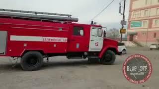 Еще три человека были спасены на пожаре в офисном здании в Благовещенске