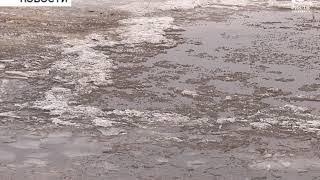 С 12-го марта в Бирске на Белой закрылась ледовая переправа