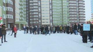 В «Салават Купере» новоселье справили жители 425-квартирной новостройки