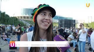 """UTV. В Уфе на """"Дне тысячи музыкантов"""" прозвучали мировые хиты и выступила группа """"Ногу свело"""