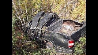 Водитель погиб, пассажиры госпитализированы: на трассе в Башкирии опрокинулся УАЗ