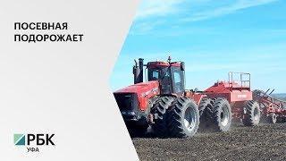 Общий объем финансирования весенних полевых работ в РБ в 2020 оценивается в 13,4 млрд руб.