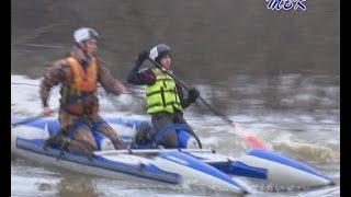 Паводок на р  Шипуниха под д  Ургун на руку спортсменам водникам