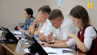 Новости UTV. Министр молодежной политики и спорта посетил г. Салават