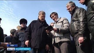 Радий Хабиров поручил усилить работу по устранению ям в Уфе