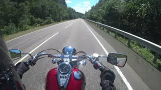 Природа Башкирии на мотоцикле
