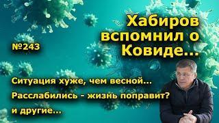 """""""Хабиров вспомнил о Ковиде..."""" """"Открытая Политика"""". Выпуск - 243"""