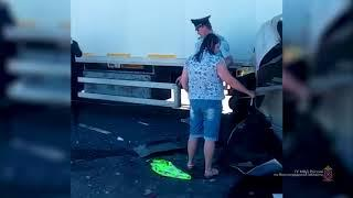 ДТП Михайловка. 6 машин из-за водителя MAN