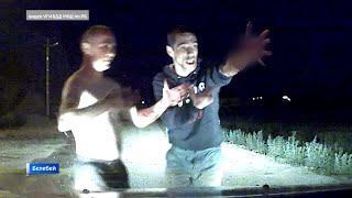 «Нас сейчас порежут»: пьяный водитель с ножом устроил дебош и угрожал полицейским в Башкирии