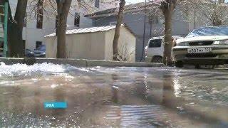 В Уфе затопило двухэтажный жилой дом в результате коммунальной аварии