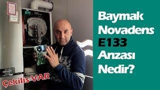 Baymak Novadens Kombi Neden E133 Arızası Verir! Baymak Kombi Tamircisi Anlatıyor!